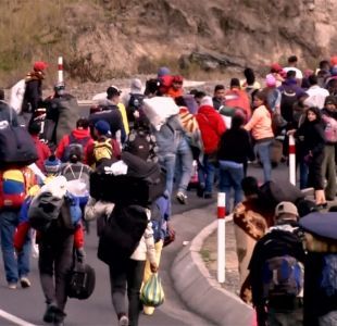 [VIDEO] Maduro niega crisis migratoria