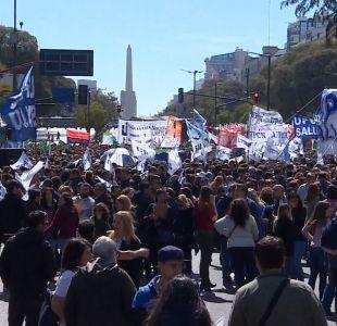[VIDEO] El día a día de la crisis argentina