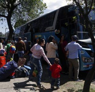 Grupo de venezolanos que emigró a Ecuador se acoge a plan de retorno de Maduro