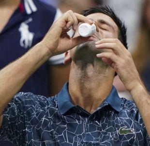 Novak Djokovic en US Open