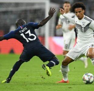 Francia estrena su título mundial con un empate sin goles ante Alemania