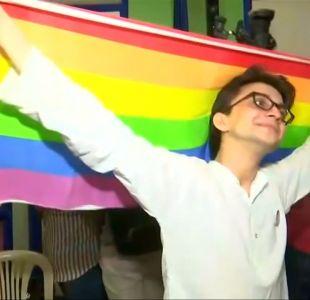 [VIDEO] Las celebraciones en India tras la despenalización de la homosexualidad