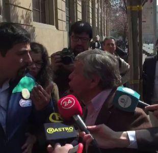[VIDEO] El tenso encuentro de Luis Plaza con el nuevo alcalde de Cerro Navia en la Contraloría