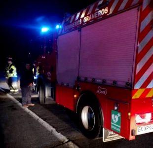 Mueren tres niños en un incendio en Valdivia