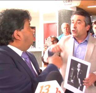 [VIDEO] Diputado funa a subsecretario Castillo