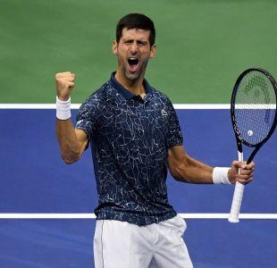 Djokovic vence en tres sets a Nishikori y enfrentará a Del Potro en la final del US Open