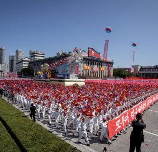 Corea del Norte celebra desfile militar sin misiles balísticos intercontinentales