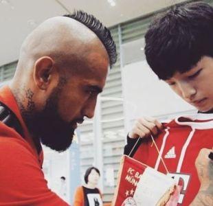 El agradecimiento de un hincha coreano al enorme gesto de Arturo Vidal