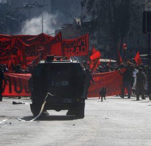 [VIDEOS] Se registran incidentes en romería hacia el Cementerio General por detenidos desaparecidos