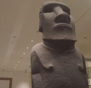 [VIDEO] Rapa Nui busca recuperar sus moáis