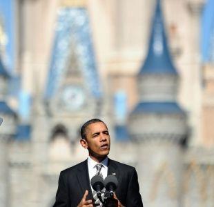 [VIDEO] Obama relata el día en que fue expulsado de Disneyland