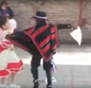 [VIDEO] Niño haitiano se lució bailando cueca y ganó torneo escolar