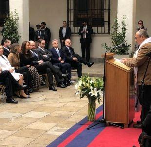 Piñera encabeza acto ecuménico en La Moneda a 45 años del Golpe de Estado