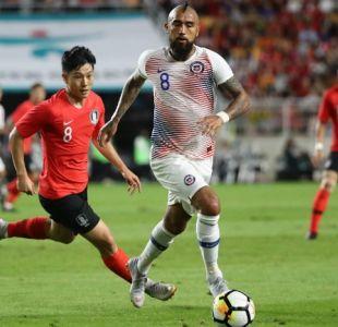 La Roja iguala ante mundialista Corea del Sur y Arias suma puntos para adueñarse del arco