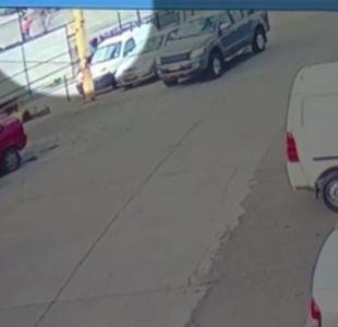 [VIDEO] Registran momento del accidente que dejó a dos vendedores ambulantes muertos