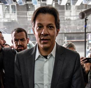 [VIDEO] Haddad reemplaza a Lula como candidato presidencial del PT en Brasil