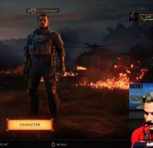 [VIDEO] Famoso gamer tuvo que interrumpir su transmisión en Twitch por disparos en su casa