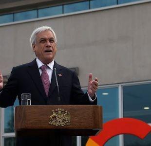 La Haya: Piñera asegura que Chile espera con tranquilidad fallo de la CIJ