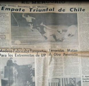 [VIDEO] El partido prohibido: La noche en que Chile igualó sin goles ante la URSS