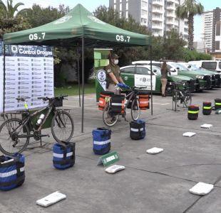 [VIDEO] Ciclistas traficaban droga desde Colombia