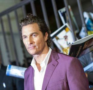 La arriesgada acción con que Matthew McConaughey salvó a su hijo del ataque de un animal salvaje