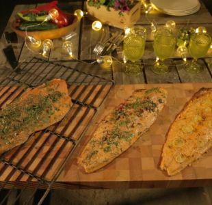 [VIDEO] #ParrillaChallengeT13: Tres recetas para el salmón a la parrilla