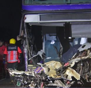 [VIDEO] Tres fallecidos en accidentes previos al 18