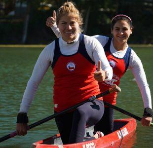 Chilenas Karen Roco y María José Mailliard se coronaron campeonas panamericanas de canotaje