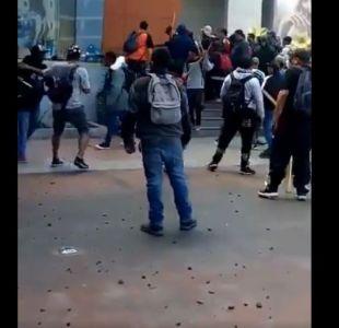 [VIDEO] Carabineros detiene a 21 personas por incidentes en centro comercial Zofri de Iquique