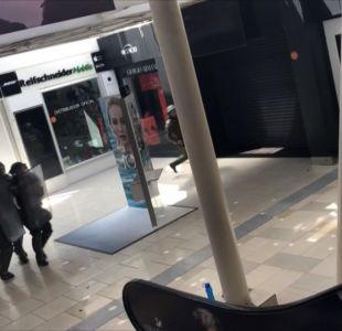 [VIDEO] Graves enfrentamientos en Mall Zofri