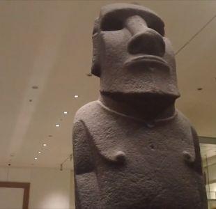 Representantes de Rapa Nui viajarán a Londres para pedir devolución de moai