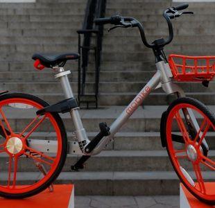 El insólito lugar donde aparecieron dos bicicletas Mobike en vísperas de Fiestas Patrias
