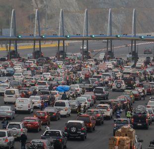 Fiestas Patrias: Gobierno recomienda que personas retrasen su viaje para evitar congestión vehicular