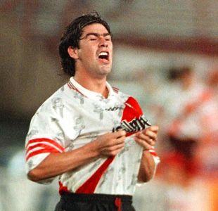 Marcelo Salas en su paso por River Plate