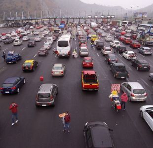 Ruta 5 Sur: Usuarios acusan alta congestión vehicular producto de accidente por alcance