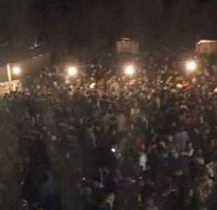 [VIDEO] Clausuran fonda en Pichilemu tras estampida que dejó varios heridos