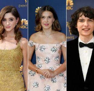 [FOTOS] Elenco de Stranger Things se lució en Alfombra Roja de los Emmy 2018
