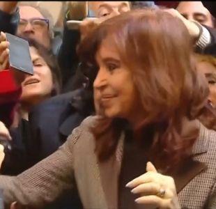[VIDEO] Cristina Fernández: molesta y procesada