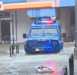 [VIDEO] Tifón Mangkhut arrasa con todo a su paso