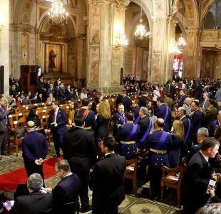 Te Deum Ecuménico: Sebastián Piñera participa de la ceremonia sin Ezzati y tras expulsión de Precht