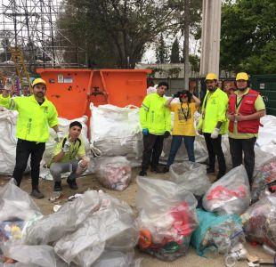 Fondas de Parque OHiggins han logrado reciclar más de dos toneladas de residuos
