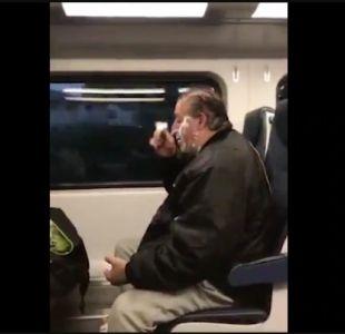 La conmovedora historia detrás del hombre que se hizo viral por afeitarse en el tren