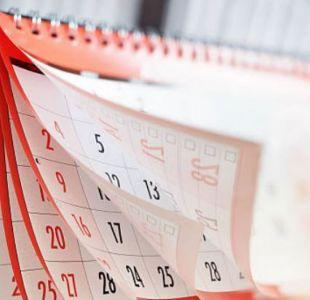 Estos son los feriados y fines de semana largos para 2019