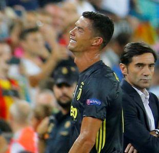 Los mejores memes que dejó el llanto de CR7 tras su expulsión con la Juventus