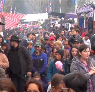 [VIDEO] Masiva pelea en fonda de Talca