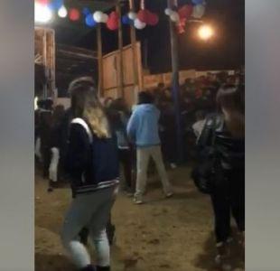 [VIDEO] El relato de la estudiante que salvó la vida a una joven tras la estampida en Pichilemu