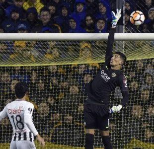Arquero de Boca Juniors sufre fractura de mandíbula en encuentro por Libertadores