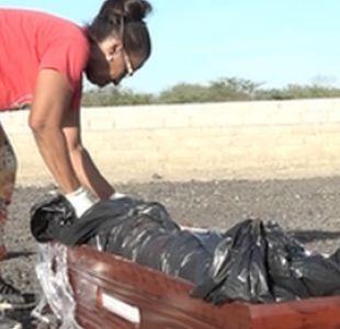 La mujer que entierra en su cementerio a los migrantes venezolanos que mueren en Colombia