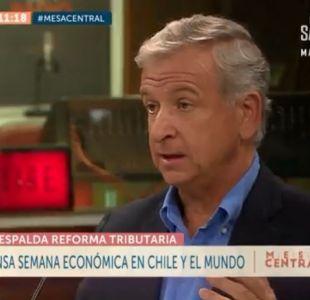 [VIDEO] Ministro de Hacienda y economía chilena: Estamos creciendo más que los países del Pacífico