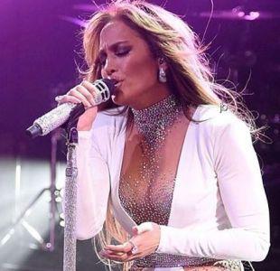 [VIDEO] La caída que protagonizó Jennifer Lopez durante su presentación en Las Vegas